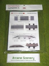 PONTOON AND BRIDGE SET RENEDRA Scenery & Terrain 28mm