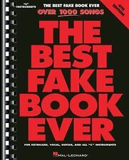 The Best Fake Book Ever: C Edition, Hal Leonard, Good Book