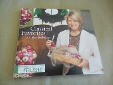Classical Favorites For The Hoidays Martha Stewart Music CDLIKE NEW Digipak 2005