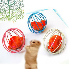 2015 XI CA Fun Gift Play Playing Toys False Mouse in Rat Cage Ball For Pet Cat