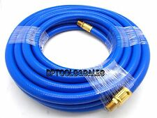 "50ft x 3/8"" Air Hose Rubber Compressor Flexible Hose 300 PSI 1/4"" NPT  NEW"