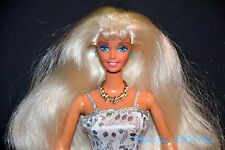 PRETTY PLATINUM WHITE BLONDE LONG HAIR BARBIE DOLL