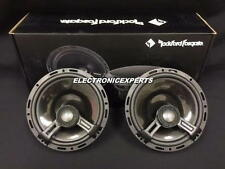 "ROCKFORD FOSGATE POWER T1650 6.75"" 2 Way 6.5"" Speakers Aluminum Dome Tweeters"