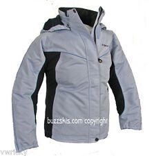 GIRLS SKI JACKET Size 15 17 PALE BLUE NEW FIVE SEASONS FREE POSTAGE