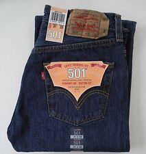 Levi´s ® 501 ®   Herren Jeans Neu DARK STONEWASHED / BLAU  Viele Grössen NEU