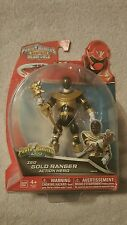 New Saban's Powe Rangers Super Mega Force Zeo Gold Ranger Action Figure