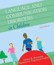 Language and Communication Disorders in Children (6th Edition)