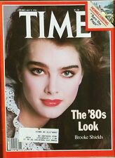 Vintage Antique Time Magazine February 9 1981 Brooke Shields Iran Hostage return
