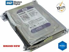 "WESTERN DIGITAL 500GB DISCO RIGIDO Desktop CCTV DVR SATA 3.5 "" 7200RPM wd5000azlx"