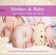 Zen Mother & Baby – Soft white noise CD - Ideal for sleep, soothes headaches