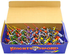 18 Britains Deetail Mounted Knights - mint in counter pack box 7772