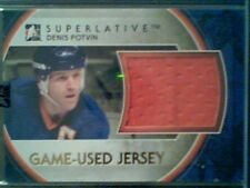 DENIS POTVIN   AUTHENTIC PIECE OF A GAME-USED JERSEY /9  SP