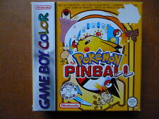 Game Boy Color Spiel  -  Pokemon Pinball   -  Deutsche Version
