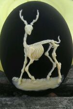 Dead Forest cameo silicone push mold mould polymer clay resin sugar craft USA