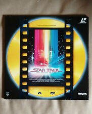 PHILIPS Laserdisc Star Trek The motion Picture il film italiano RARO NUOVO