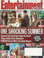 Box Office Roundup Entertainment Weekly Aug 2003 POC Shia LaBeouf Harvey Pekar