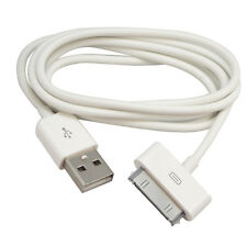 6FT 2M USB Sync Charger Cable Cord for iPad 2 iPod Touch Nano iPhone 4 4S #White