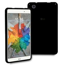 Black TPU Flexible Soft Skin Case Phone Cover For LG G Pad X 8.0 / G Pad III 8.0