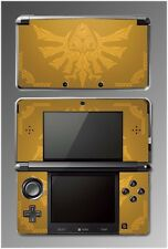Zelda Hyrule Gold Edition Special Majora's Mask Game Decal Skin Nintendo 3DS