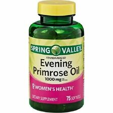 Spring Valley Evening Primrose Oil Dietry Supplement Softgels