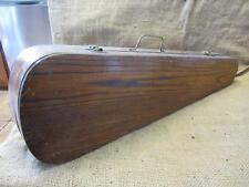 Vintage Wooden Violin Case   Antique Instrument Musical Music Oak Gear 9269