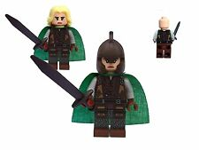 HOBBIT LORD THE RINGS MINIFIGURE EOWYN SHIELD MAIDEN OF ROHAN + SWORD & HELMET