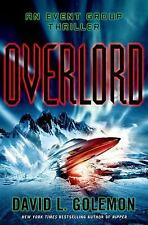 Overlord by David L. Golemon ( 2014, Hardcover) BRAND NEW