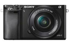 Sony Alpha a6000 24.3 MP Digital SLR Camera - Black (Kit w/ 16-50mm Lens)