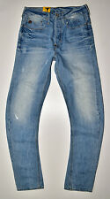 G-STAR RAW - Type C 3D Ample Coupe Fuseau - Vintage Look Jeans W30 L36 Neuf