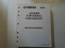 2008 Yamaha FJR13AX FJR13AEX (C) Service Repair Shop Workshop Manual FACTORY NEW
