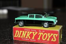DINKY  # 165 Humber Hawk ...1960,s  All Completely Original with its Box