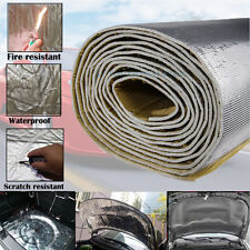"16""x39"" 7mm Engine Door Noise Car Sound Deadener Heat Insulation Reflective mat"