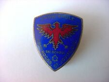 Vintage Enamel 1930's Ski School Badge Snow Eagle St. Jovite, Quebec