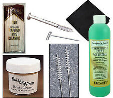 Duncan Hill Aerosphere Tobacco Smoking Pipe Cleaning Kit w/ T-Pin, Cloth - 1446