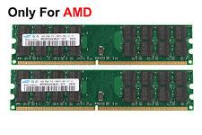 Samsung 8GB 2X 4GB DDR2 2RX4 PC2-6400U 800Mhz 240PIN DIMM AMD RAM Desktop memory