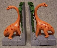 Bookends Animal Diplodocus Dinosaur Pair Book Ends NIB