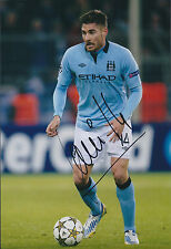 Javi GARCIA Signed Autograph 12x8 Photo AFTAL COA Manchester City Authentic