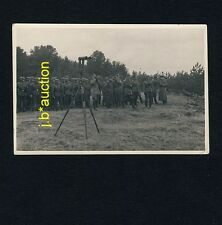 WW II GERMAN MILITARY w PERISCOPE / MILITÄR PERISKOP * 1930s Photo - no PC !