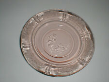 Pink Depression Glass SHARON/CABBAGE ROSE Butter Dish Bottom (loc-X19)