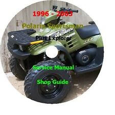 1996-2003 Polaris Sportsman 400 & 500 4X4 + Xplorer Service Manual PDF CD Format