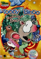 NEW   DVD // TREEHOUSE // TOOPY & and BINOO // Vroom // 60 min //ROCK A BYE BEAR