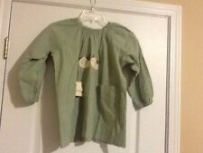 NWT Hikosen Cara Green Top / Dress Elastic Neckline Size Large