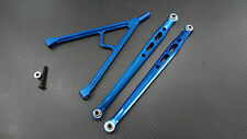 Axial SCX10 Upgrade Parts Aluminum Front Chassis Links Parts Tree - Blue
