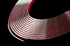 5 meter Chrome Car Styling Moulding Strip Trim Adhesive 6mm Width x 2mm Depth