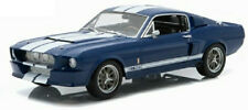 Greenlight 1:18 1967 Shelby GT500 Mustang Blue With White Stripes 12953.
