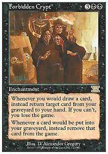 Forbidden Crypt X1 EX/NM Classic 6th Edition MTG Magic Cards Black Rare