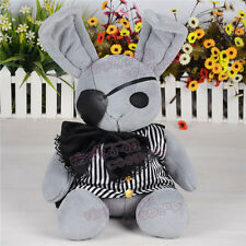 "19"" Black Butler Kuroshitsuji Dall Ciel Plush Doll Peter Rabbit Japan Anime Toy"