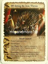 A Game of Thrones LCG - 1x Sitting the Iron Throne  #062 - A Turn of the Tide