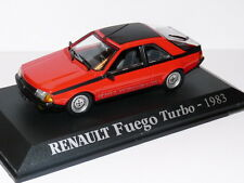 Voiture 1/43 M6 norev/Universal Hobbies : RENAULT fuego TURBO 1983