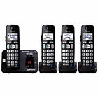 Panasonic KX-TG454SK DECT 6.0 Plus Link-to-cell Bluetooth Cordless Phone Special